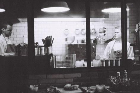 Küche im KEX-Hostel, Reykjavik