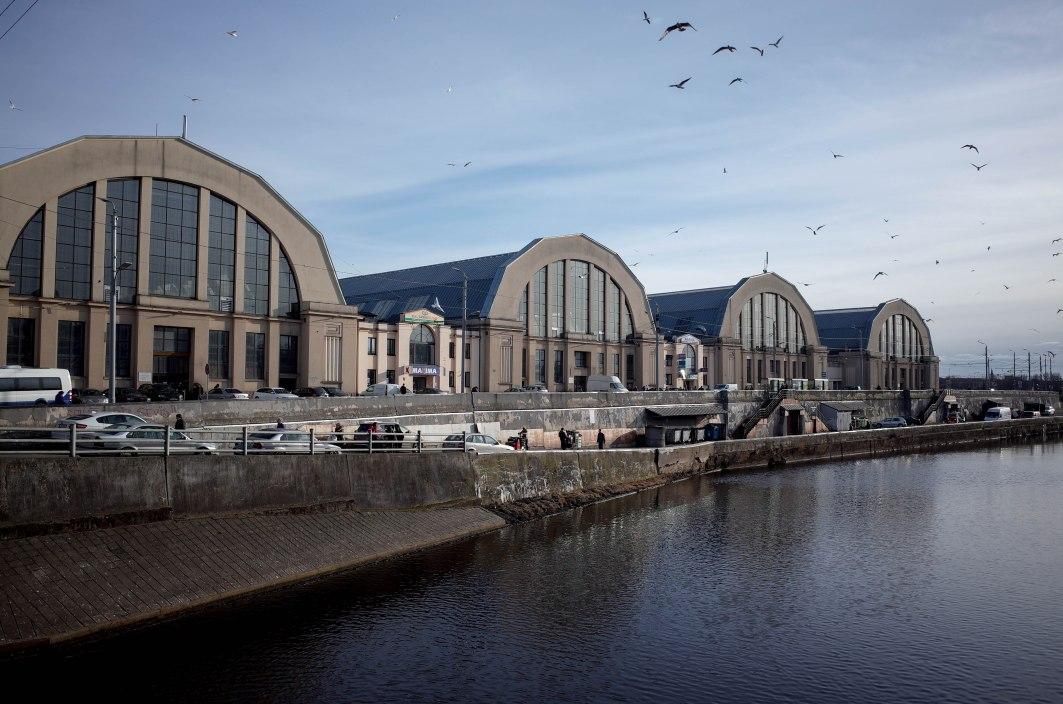 Markthallen, Rīga