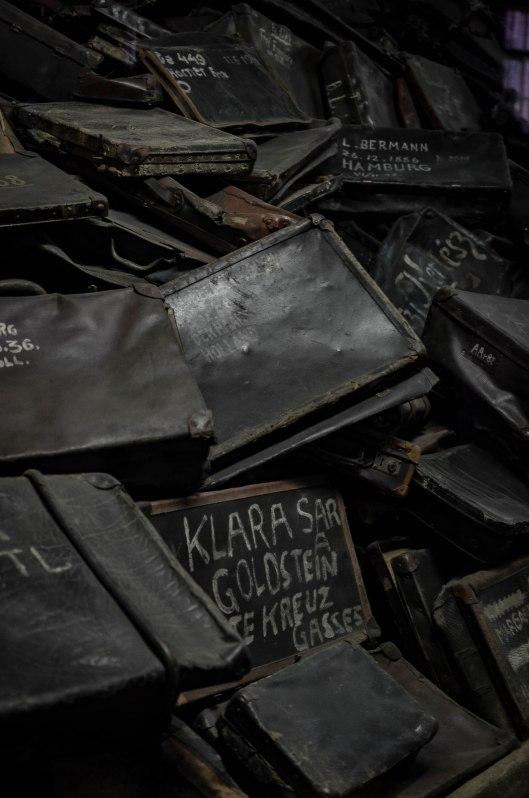 Koffer der Deportierten und Ermordeten