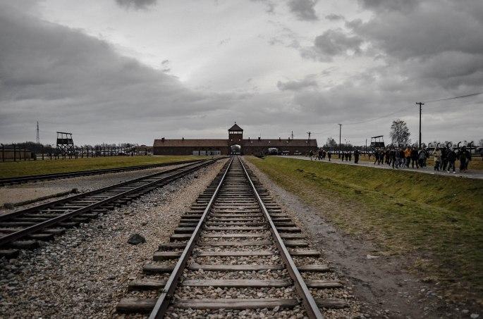 """Die """"Rampe"""" von Auschwitz-Birkenau"""