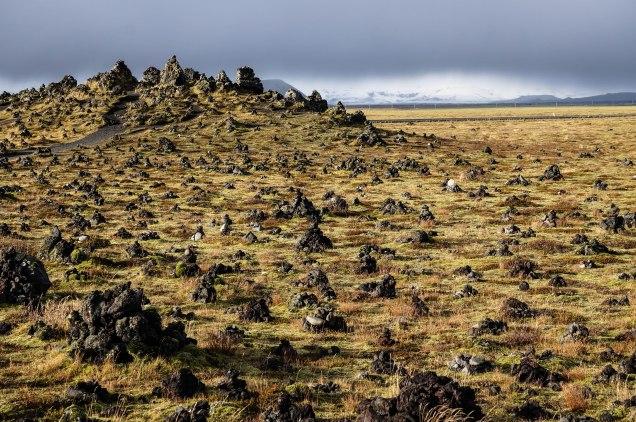 Lavawüste in Südisland