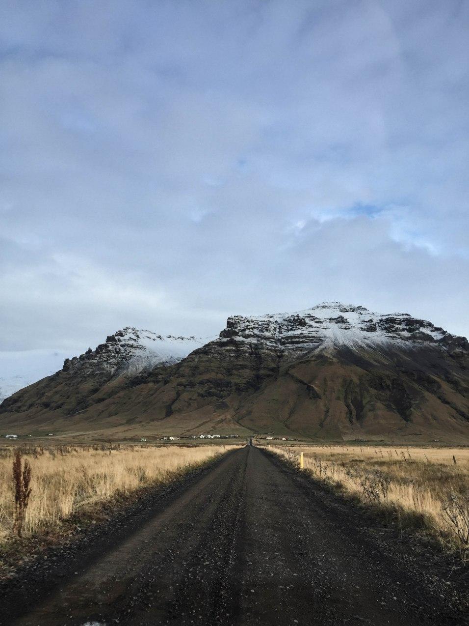 Südisland auf dem Weg zum Seljavellir
