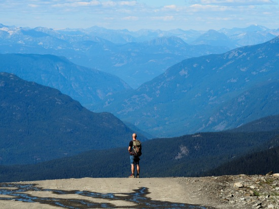 High Note Trail, Whistler